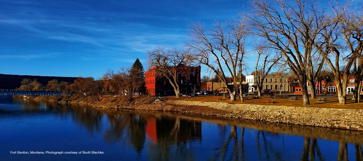 Fort Benton, Montana. Photograph courtesy of Scott Bischke.